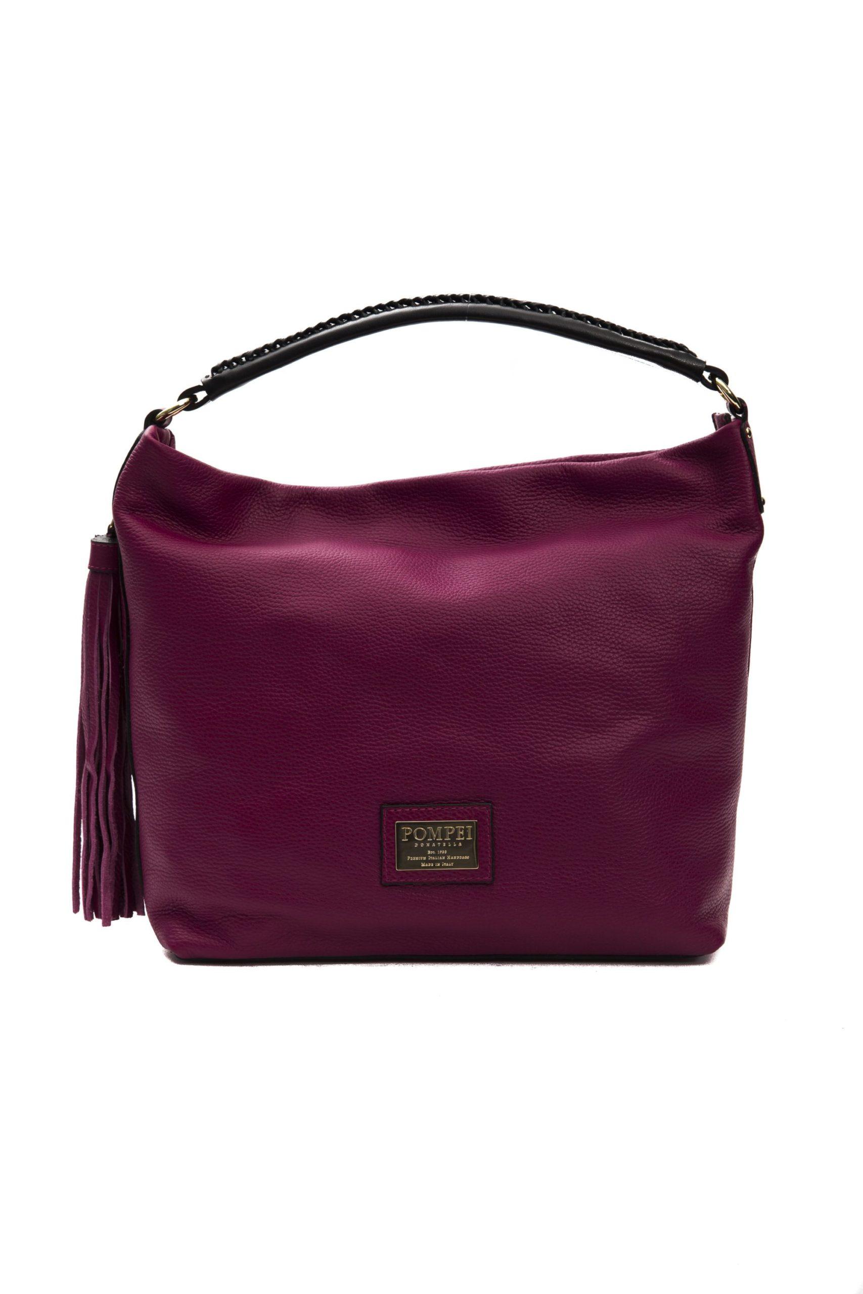 Pompei Donatella Women's Amaranto Shoulder Bag Burgundy PO1005061