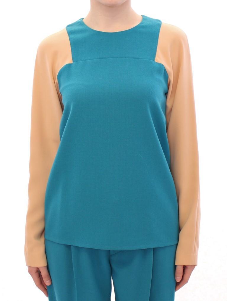 CO|TE Women's Crewneck Wool Sweater Blue - IT42|M