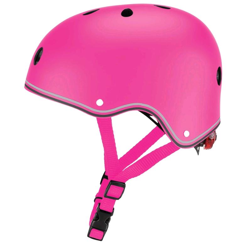 GLOBBER - Helmet Primo Lights (48-53 cm) - Pink (505-110)