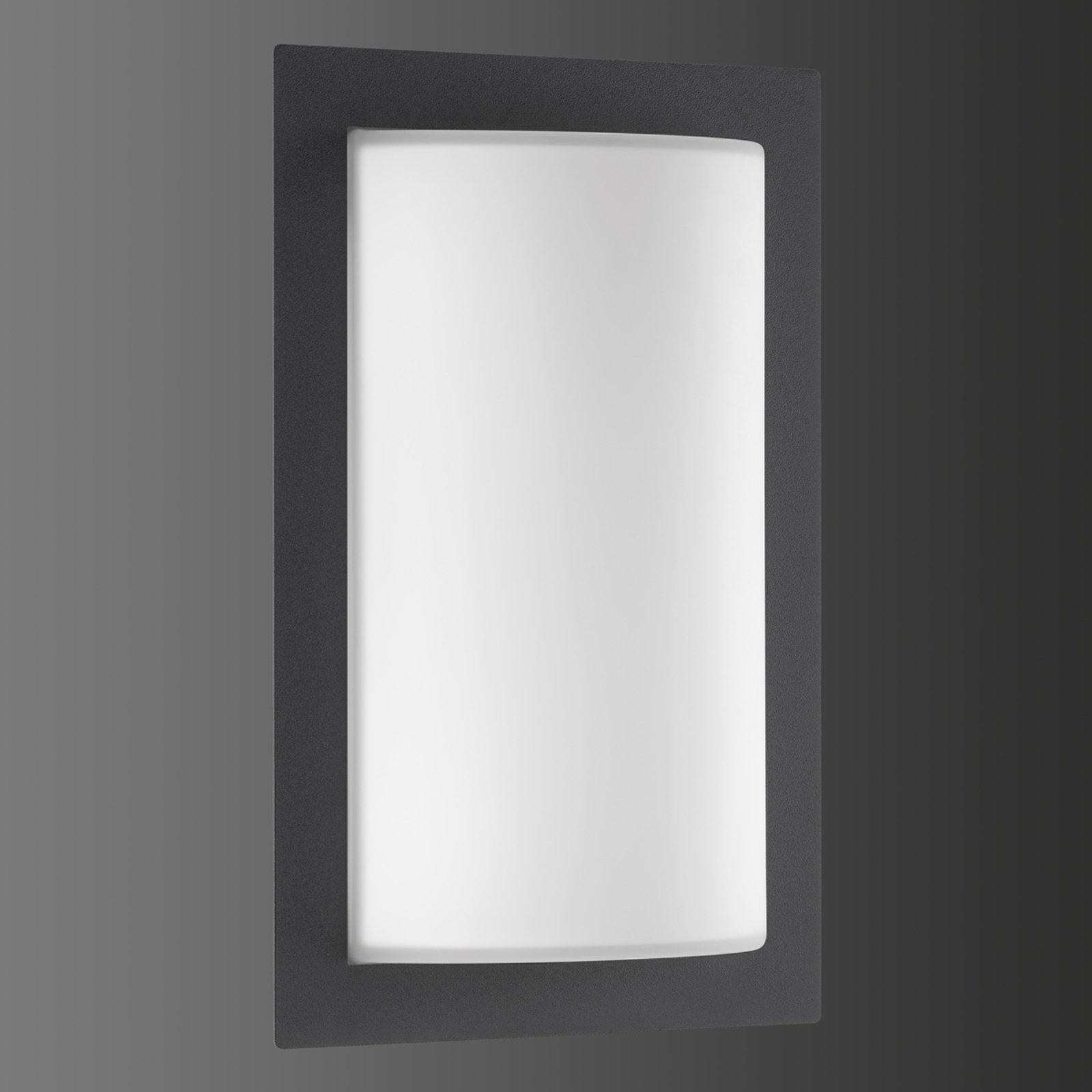 Luis utendørs LED-vegglampe – med bevegelsessensor