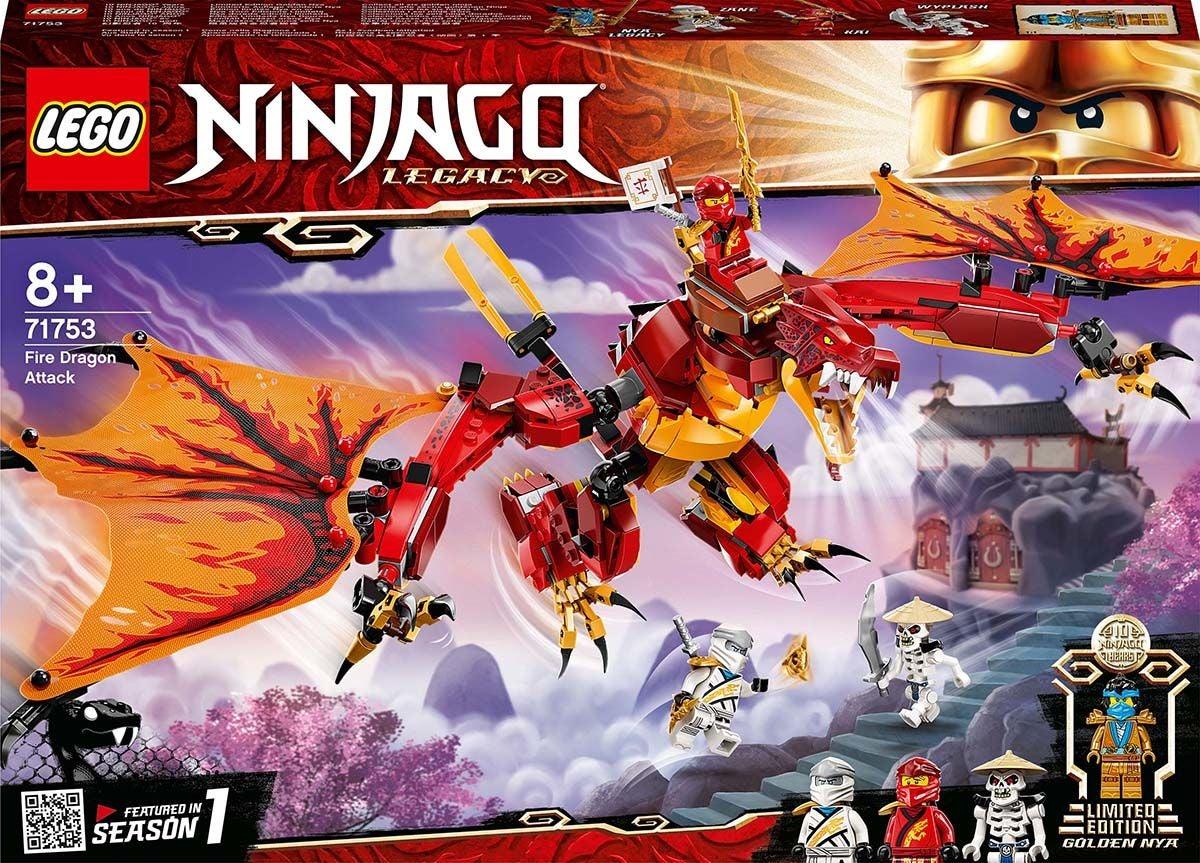 LEGO NINJAGO 71753 Tulilohikäärmeen Hyökkäys