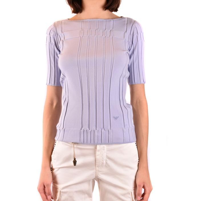 Emporio Armani Women's Sweater Light Blue 188861 - light blue 42