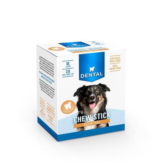 Dental Spannmålsfri Tuggpinne Multipack Medium (28-pack)