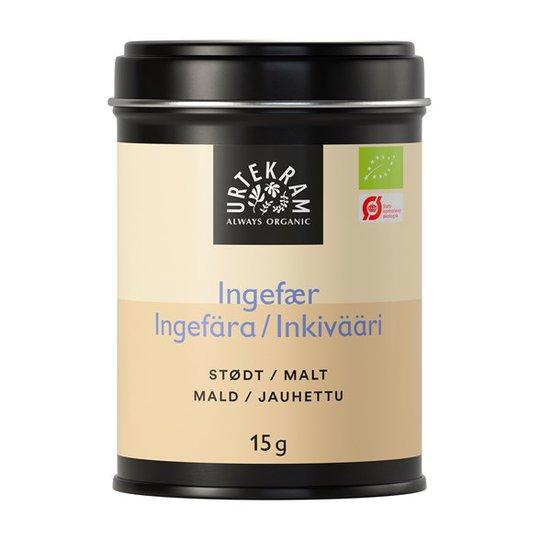 Urtekram Food Ingefära Mald, 15 g