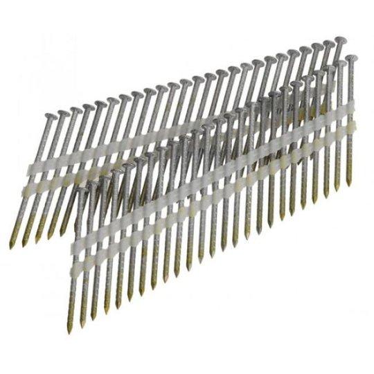 Aerfast AN30041 Runkonaula kuumasinkitty, 21°, 600-pakkaus 50x2,8 mm