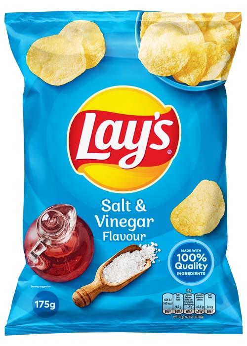 Lay's Chips Salt Vinäger - 175g