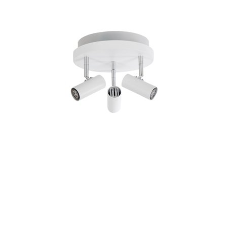 Cato LED 3-spot Matthvit m/Raking light
