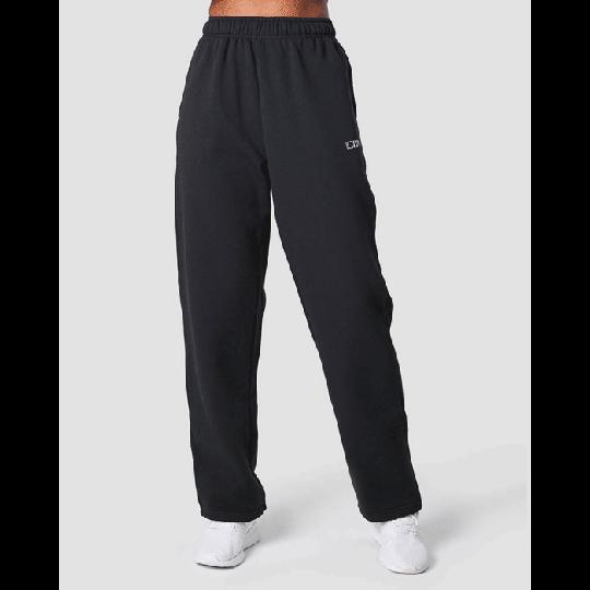 Essential Straight Sweatpant, Black