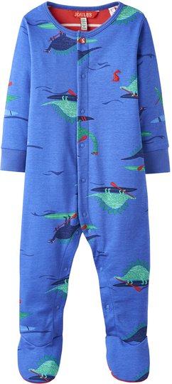 Tom Joule Jumpsuit, Blue Dino Paddle 1-3 månader