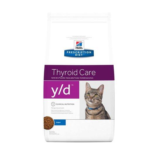 Hill's Prescription Diet Feline y/d Thyroid Care Original (1,5 kg)