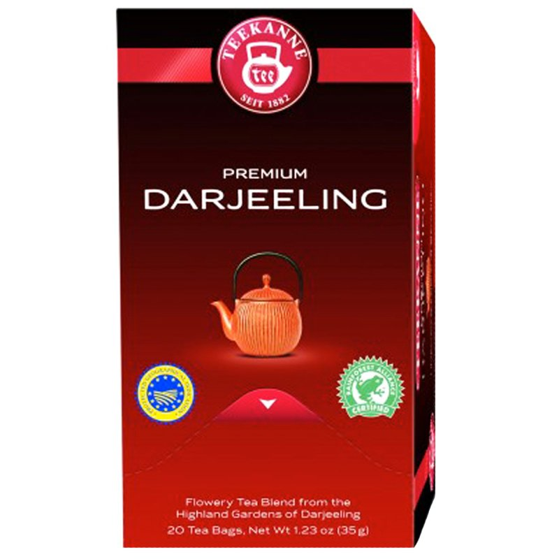 "Te ""Darjeeling"" 20 x 1,75g - 67% rabatt"