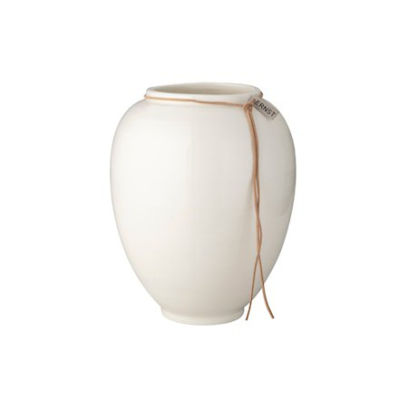 Vase Hvitglasert 22cm