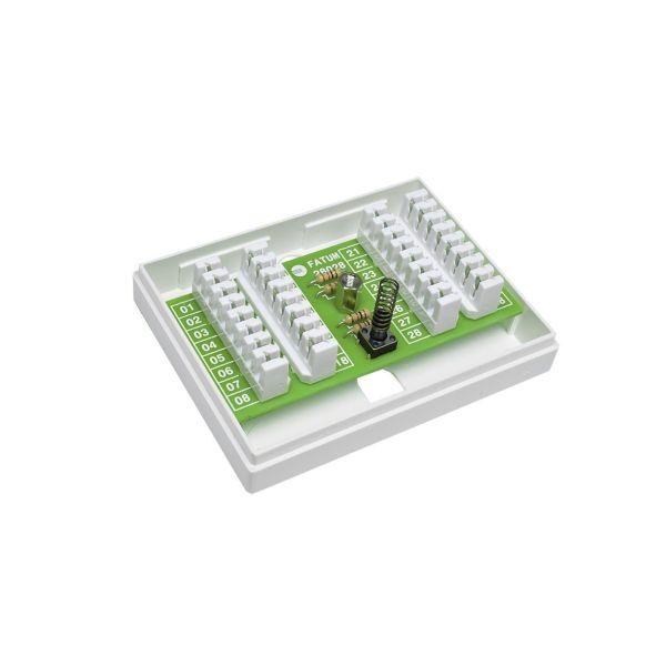 Alarmtech 28028.01 Hälytysrasia 16 johdinparia