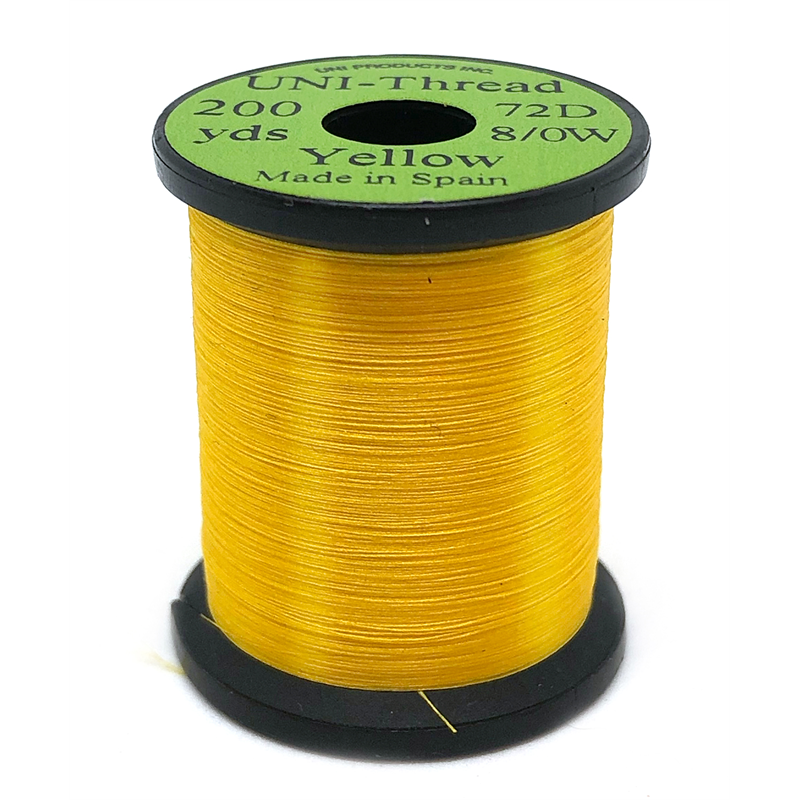 UNI bindetråd 8/0 - Yellow 200y