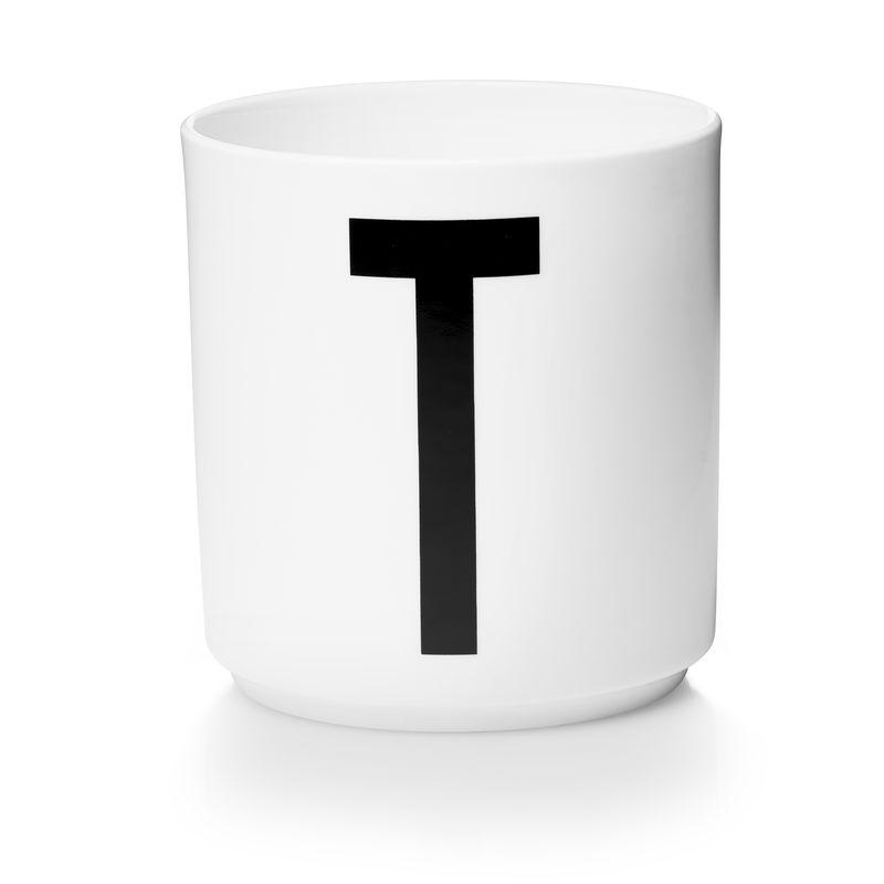 Design Letters - Personal Porcelain Cup T - White (10201000T)