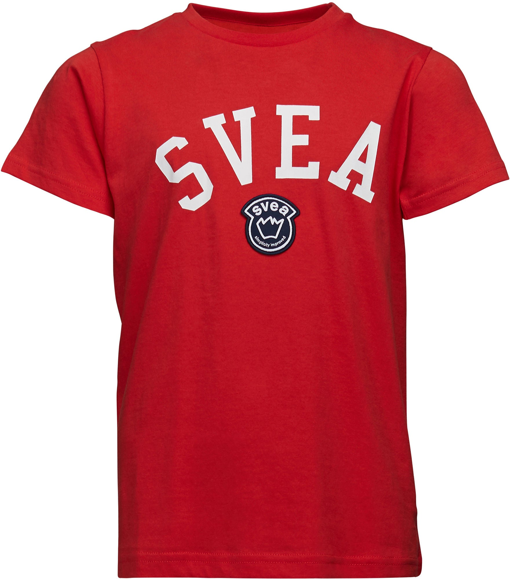 Svea Chicago T-Shirt, Röd 170