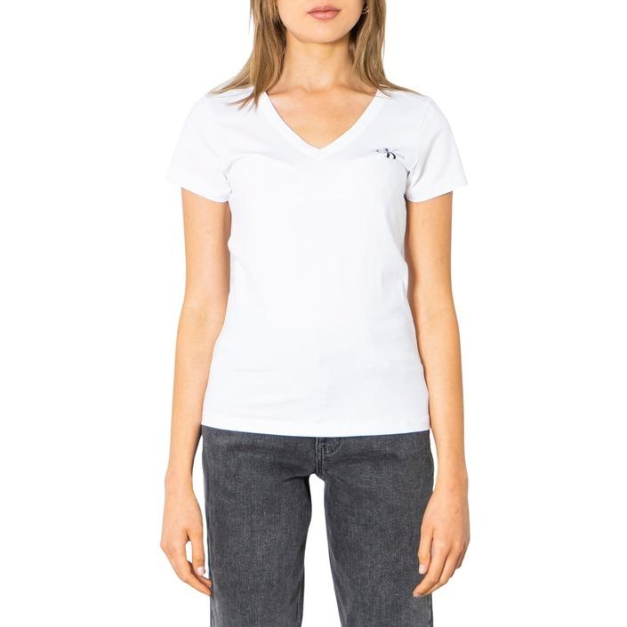 Calvin Klein Jeans Women T-Shirt White 299678 - white XS