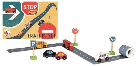 Egmont Toys Trafikk Tape med Biler DIY