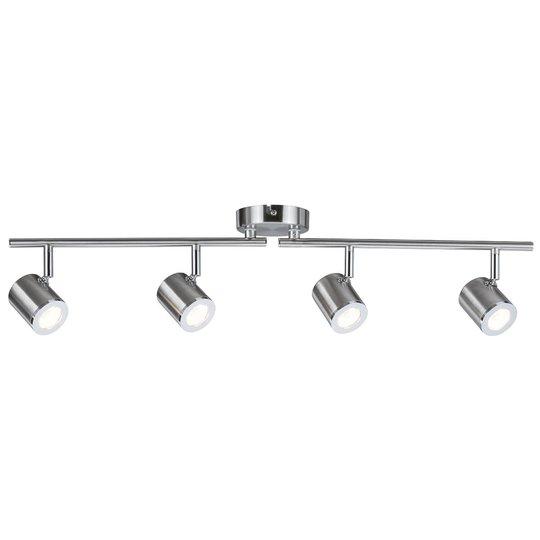 Tumbler – 4 lamppua Nikkelinvärinen kattovalaisin