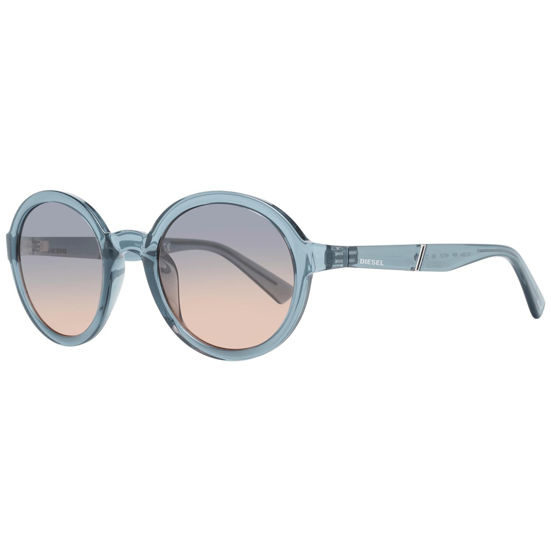 Diesel Unisex Sunglasses Blue DL0264 4890P