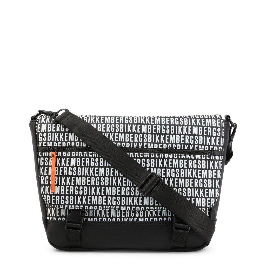 Bikkembergs Men's Briefcase Black E2APME810042 - black NOSIZE