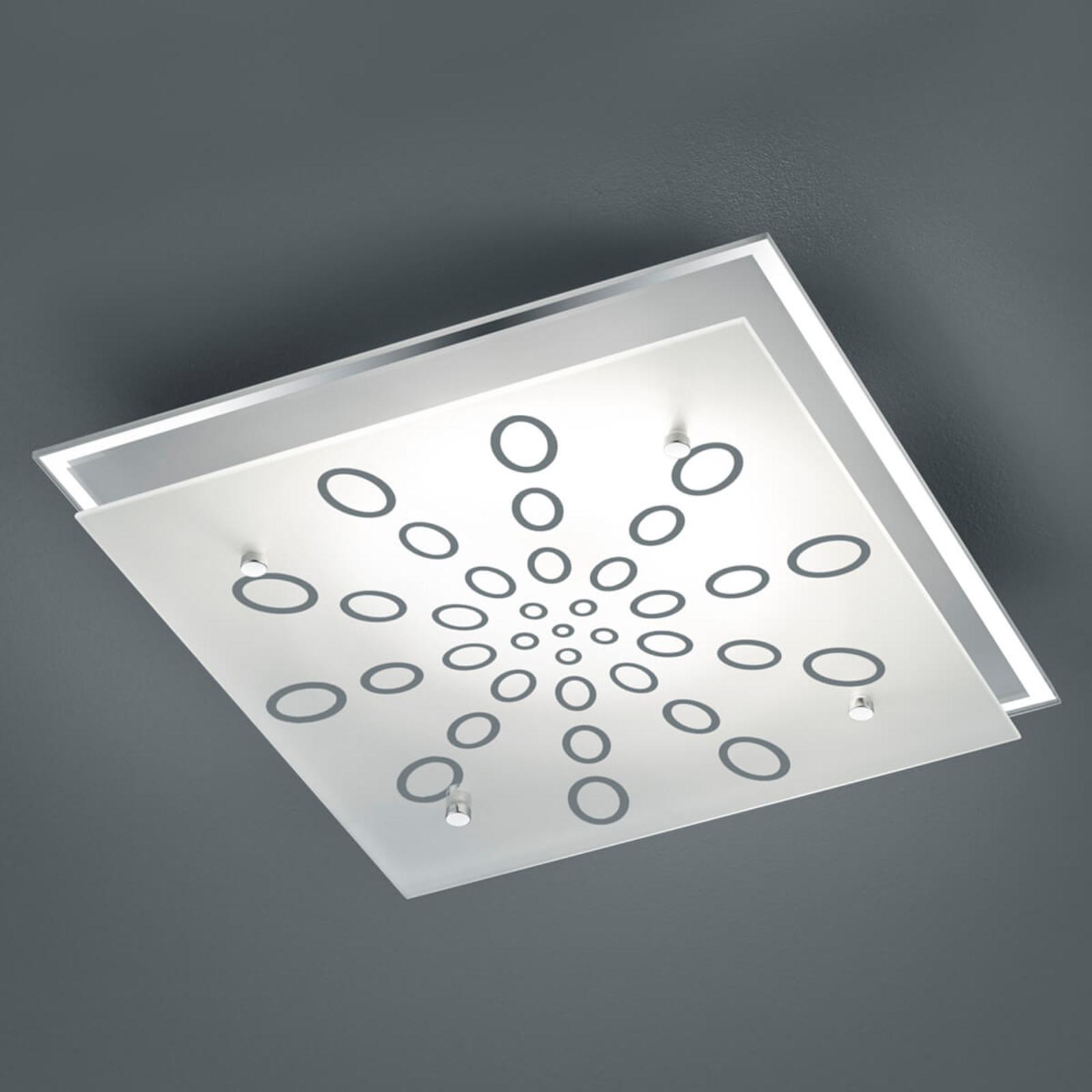 LED-kattovalaisin Dukat, himmennys seinäkytkimellä