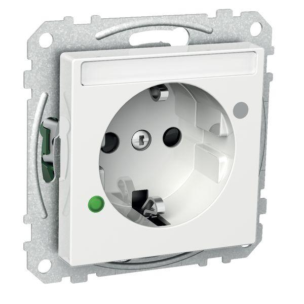 Schneider Electric Exxact Vekkuttak 1-veis, 16 A, overspenningsvern