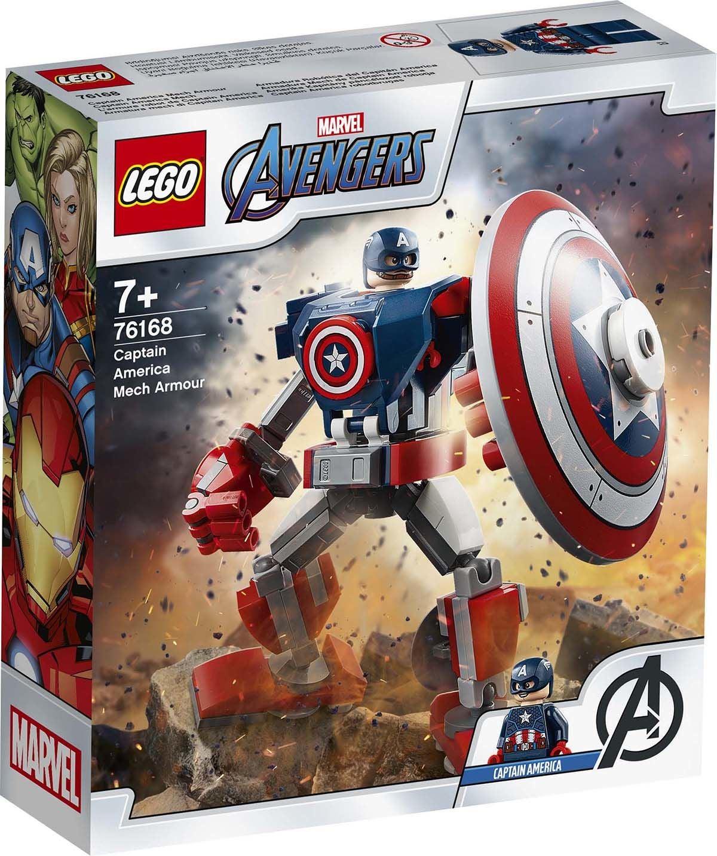 LEGO Super Heroes 76168 Captain America Robottihaarniska