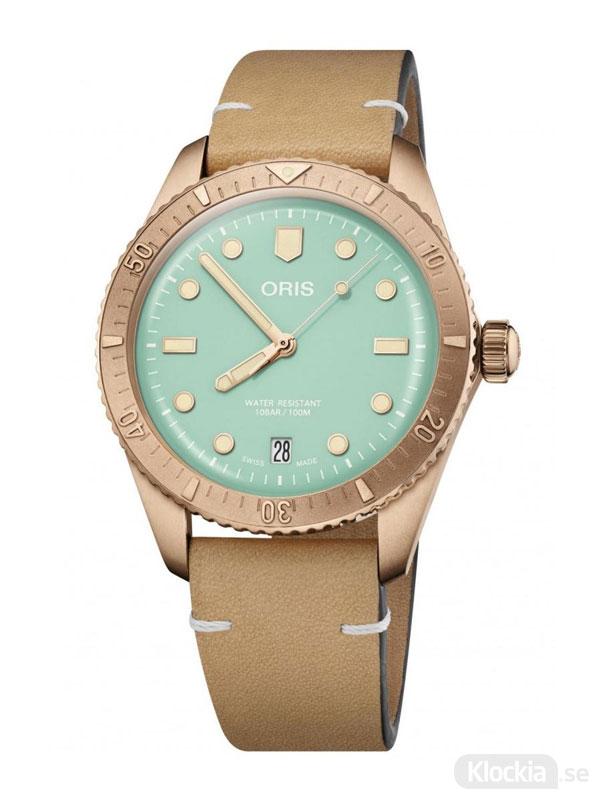 ORIS Divers Sixty-Five 38mm - Cotton Candy 733-7771-3157-07-5-19-04BR