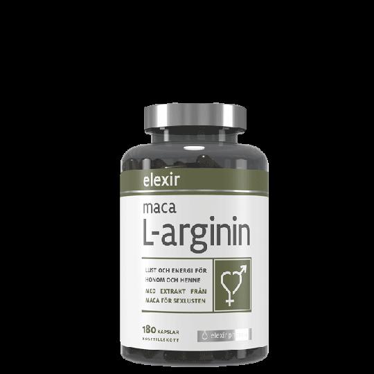 Maca L-arginin, 180 kapslar