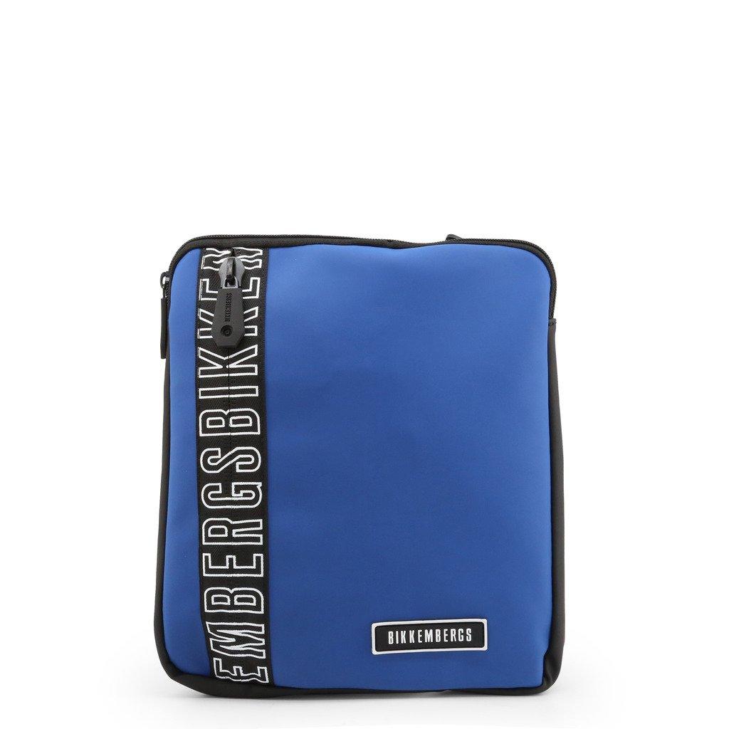 Bikkembergs Men's Crossbody Bag Various Colours E2APME170032 - blue NOSIZE