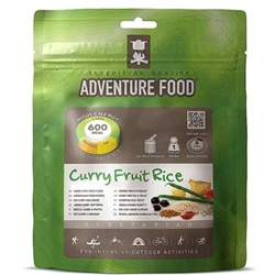 Adventure Food Curry Fruit Rice, enkelportion