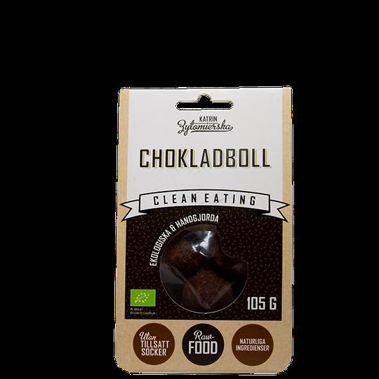 Ekologisk Chokladboll, 105 g