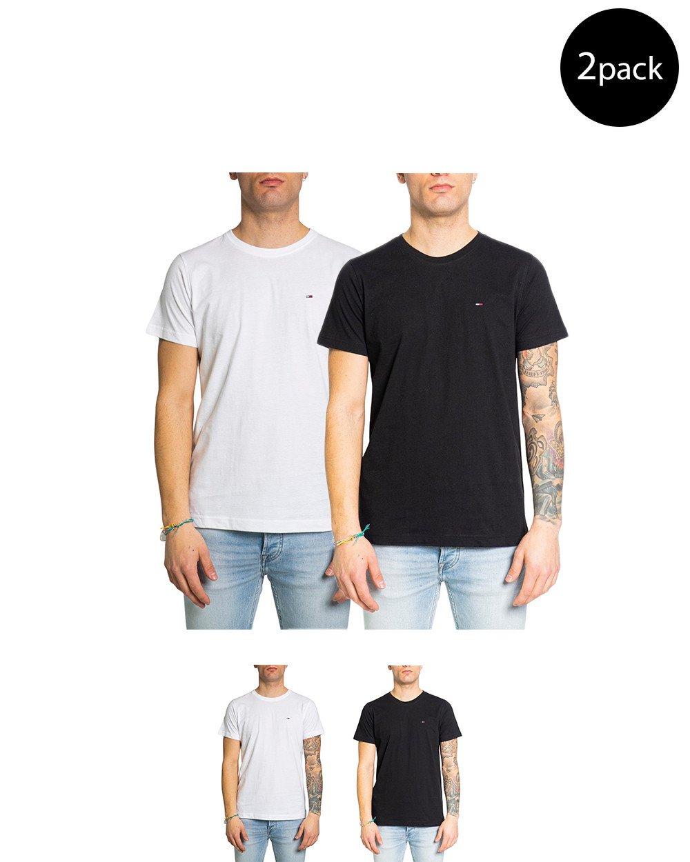 Tommy Hilfiger Jeans Men's T-Shirt Multicolor 213703 - multicolor-1 XS