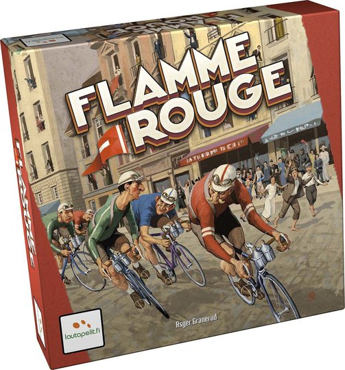 Flamme Rouge Strategispill