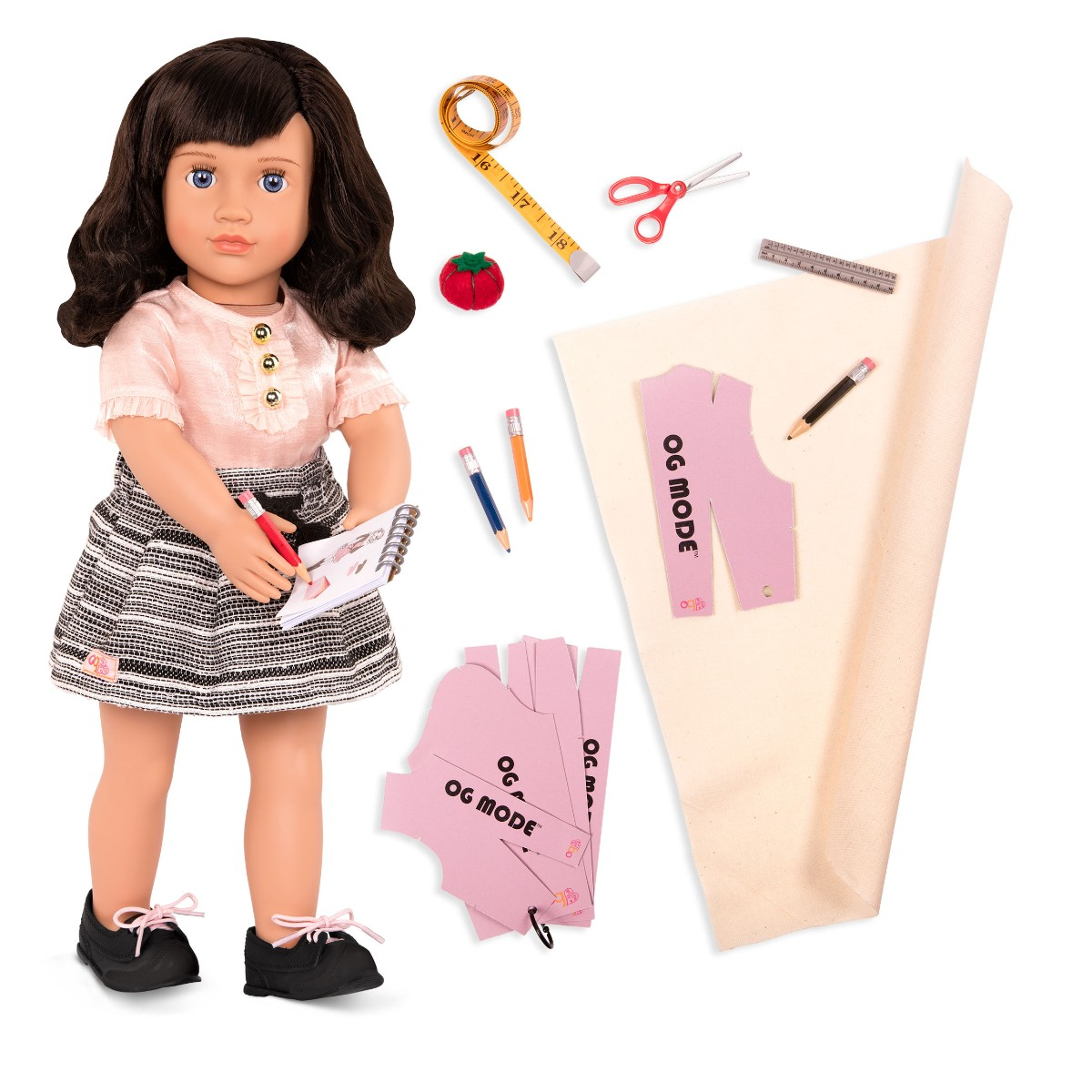 Our Generation - Olinda with sewing accessories (731264)