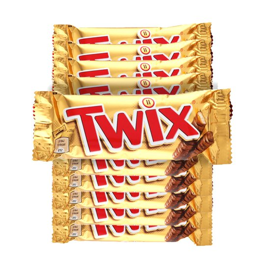 Twix 10-pack - 34% rabatt