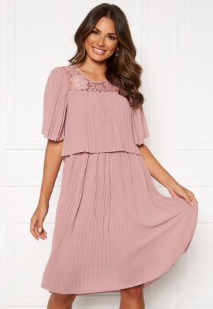 Happy Holly Jannica midi dress Dusty pink 36/38