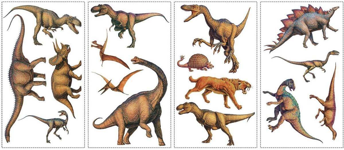 RoomMates Sisustustarrat Dinosaurs