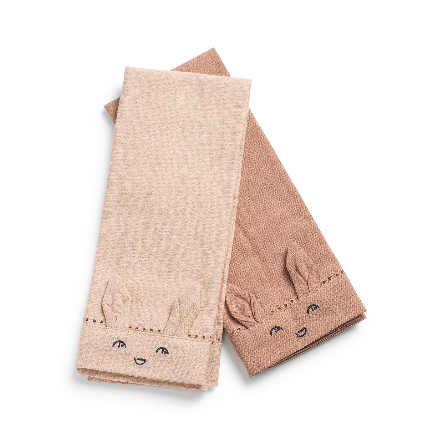 Napkins 2 pieces - Faded Rose/Powder Pink