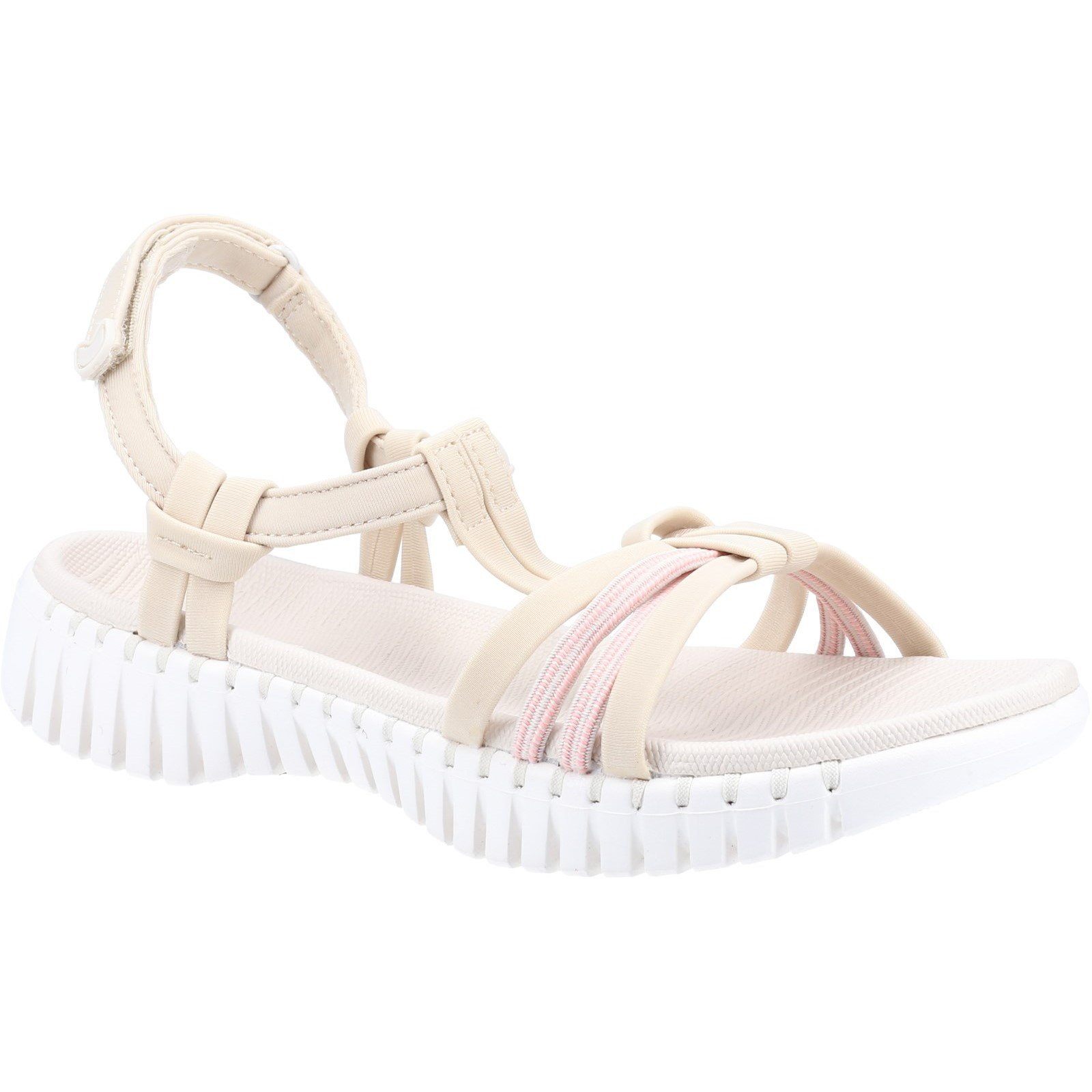 Skechers Women's Go Walk Smart Summer Sandal Various Colours 32156 - Natural 5