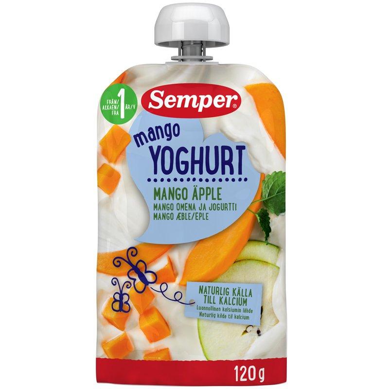 Yoghurt Mango Äpple 12M - 20% rabatt