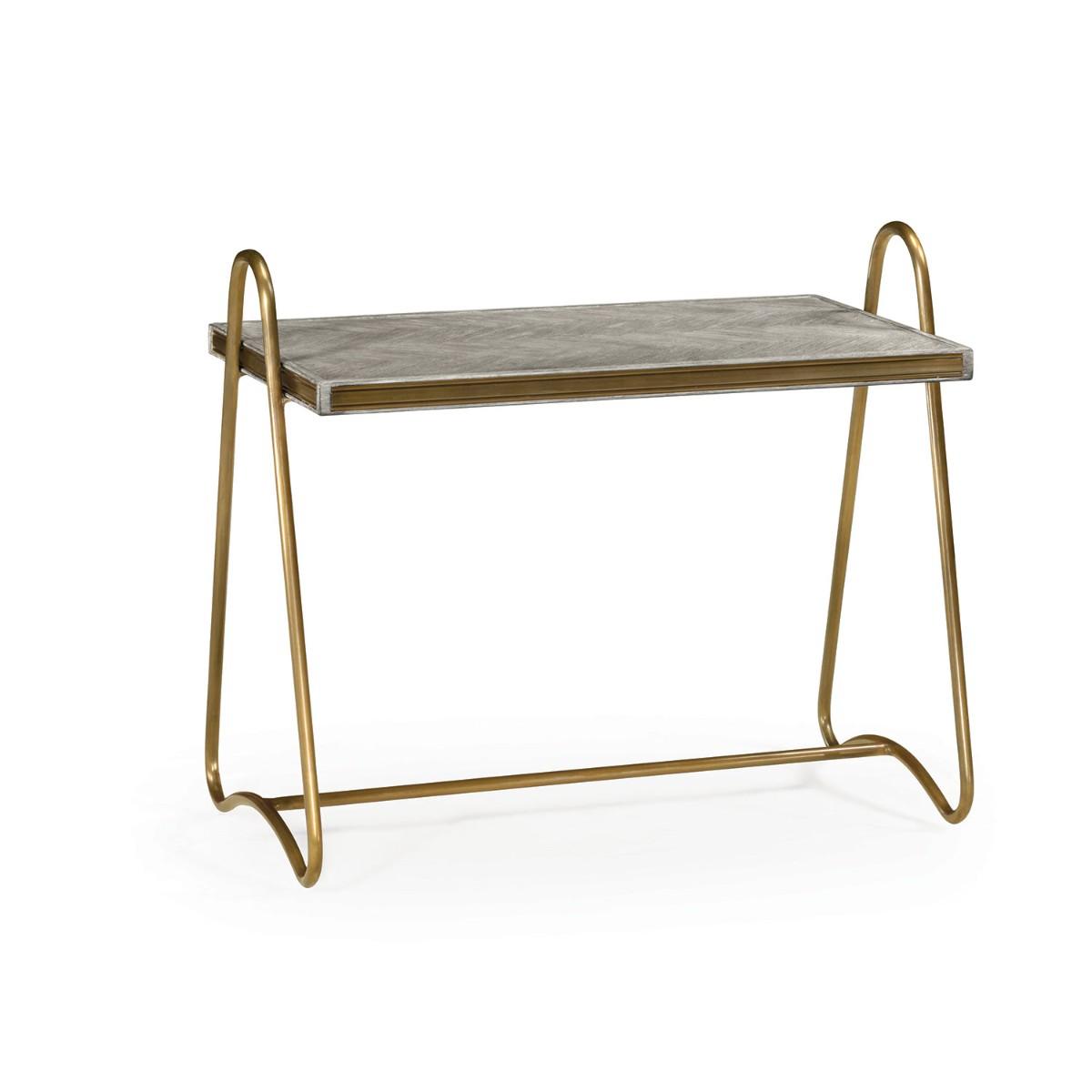 William Yeoward | Gennesso Side Table Greyed Oak