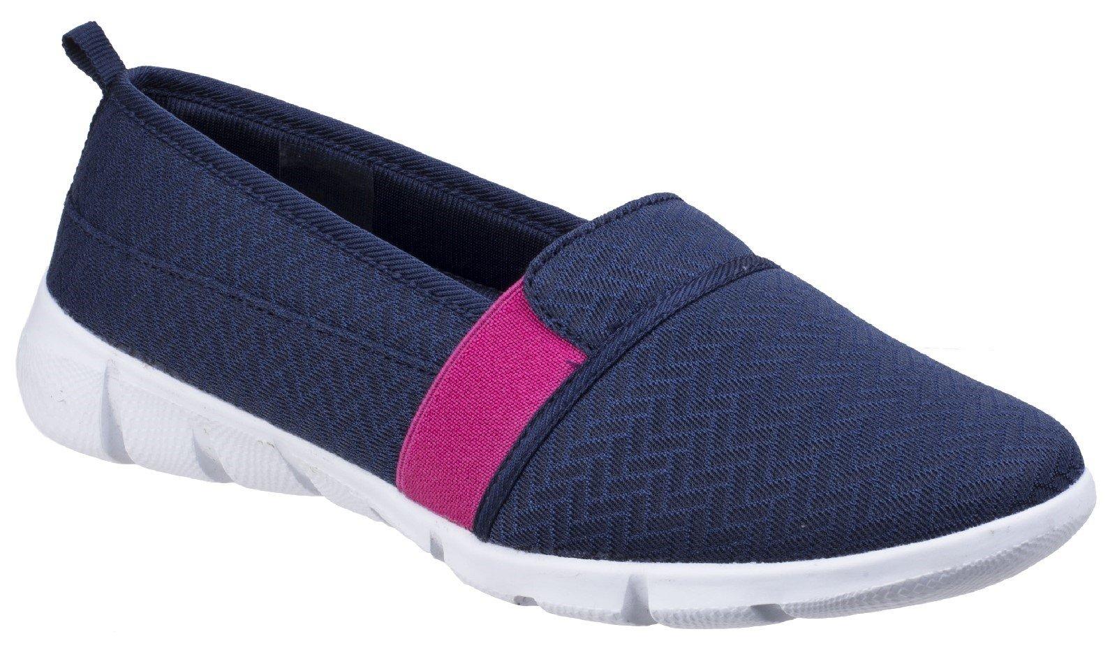 Fleet & Foster Women's Canary Espadrilles Shoe Various Colours 26310-43913 - Navy 3