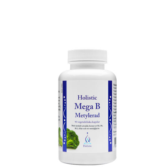 Mega B Metylerad, 90 kapslar