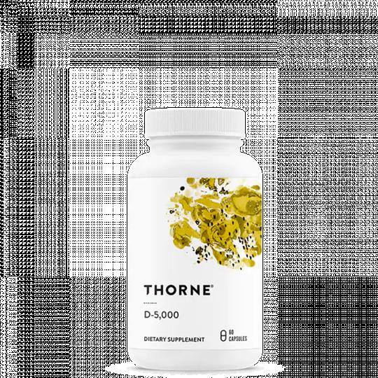 D-5000 (5 000 IE vitamin D3 utan konserveringsmedel), 60 kapslar