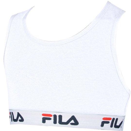 FILA Junior Topp, White 10-12 År