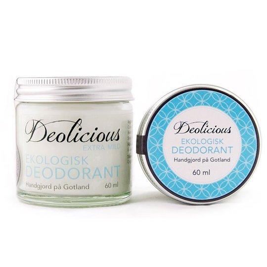 Deolicious Ekologisk Deodorant Extra mild, 60 ml