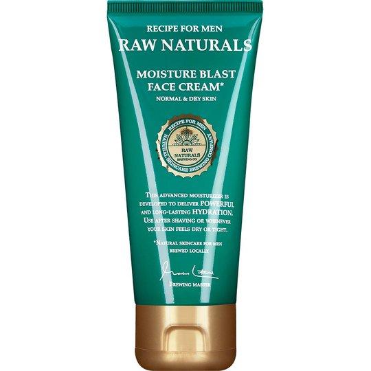 Raw Naturals Moisture Blast Face Cream, 100 ml Raw Naturals by Recipe for Men Päivävoiteet