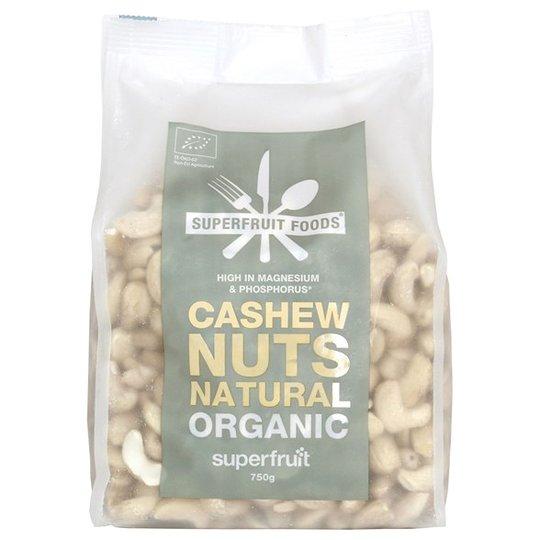 Superfruit Ekologiska Cashewnötter, 750 g